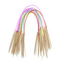 "(01)Multi-color 18 pairs 32"" 80cm Tube Carbonized Circular Bamboo Carbon... - $20.00"