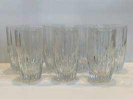 7 Mikasa Park Lane Glass Highball Glasses - $108.90