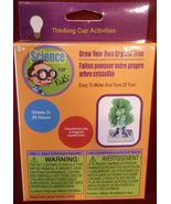 SCIENCE KIT FOR KIDS Grow Your Own Crystal Tree Activity Set NEW - $5.49