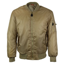 Men's Premium Multi Pocket Water Resistant Padded Zip Up Flight Bomber Jacket image 2