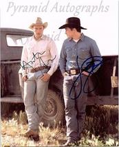 BROKEBACK MOUNTAIN Autographed Signed Photo w/Certificate of Authenticit... - $295.00
