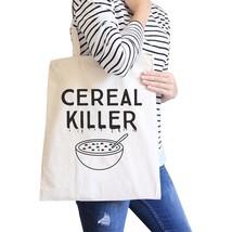 Cereal Killer Natural Canvas Bags - $19.89 CAD