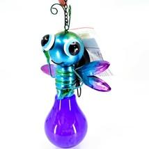 Regal Art & Gift Metal & Glass Firefly Hanging Solar Light Garden Decor image 2