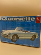 1/25 AMT 1953 Corvette detail car model FACTORY SEALED Plastic Model Kit - $21.29