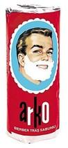 Arko Shaving Soap Stick, White, Pack Of 3 image 1