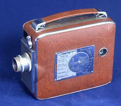 KEYSTONE Riviera K-40 Magazine 8mm Movie Camera Wollensak f/2.5 13mm len... - $40.50