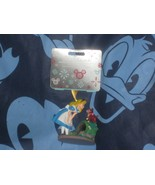 Disney Alice in Wonderland & Dinah the Cat Sketchbook Ornament 2020 New - $26.42