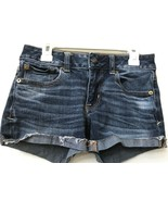 AMERICAN EAGLE OUTFITTERS Super Stretch Shortie Women's Shorts 00 Regular - $12.95