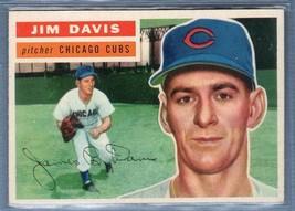 Vintage MLB 1956 TOPPS #102 JIM DAVIS(GB) EX-MT - $16.50