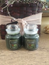 Yankee Candle small jar - 3.70 oz. Balsam & Cedar NEW Lot of 2 TWO - $16.99
