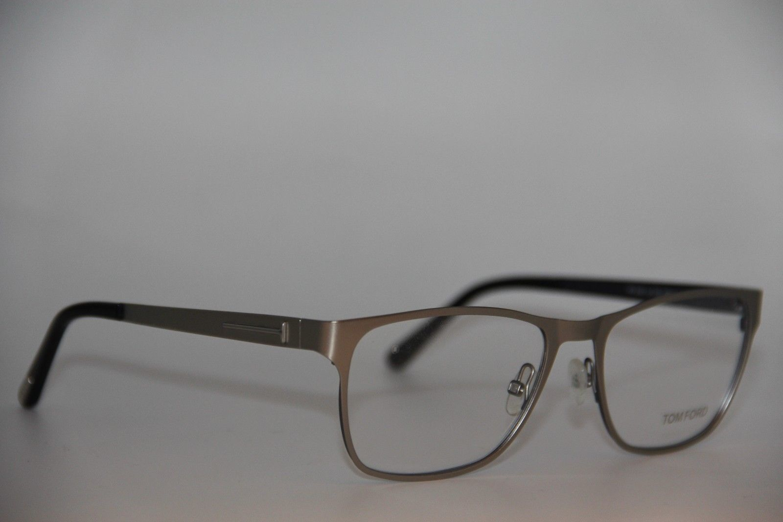 f95c8cbad2a70 NEW TOM FORD TF 5242 020 GUNMETAL EYEGLASSES AUTHENTIC RX TF5242 55-17 W