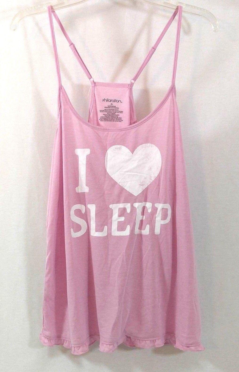 XL Xhilaration Women/'s Tie Strap Sleep Tank Top NWT!