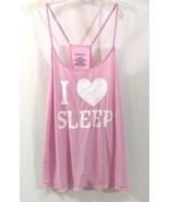 XHILARATION Sleepwear Cami Tank Top Lilac Chiffon Adj. Straps Size XL  - $6.79