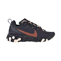 Nike React Element 55 Women's Shoes Oil Grey-Echo Pink CT1186-001 - $99.95