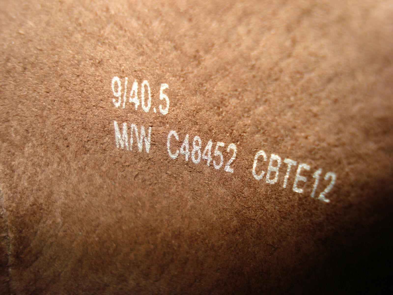 Born Patent Leather Leopard Print Flats Sz. 40.5 / 9 US EXCELLENT!