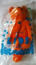 Avon Full O' Beans Bernard Teddy Bear Orange Size 9 inches Stuffed Toy V... - $11.61
