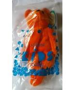 Avon Full O' Beans Bernard Teddy Bear Orange Size 9 inches Stuffed Toy V... - $11.61
