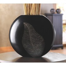 Artisan Leaf Vase - $31.00