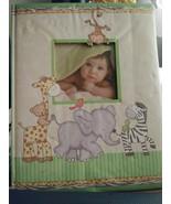 Baby Memory Book unused giraffe elephant kangaroo animals unisex - $13.10