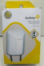 Safety 1St Outlet Cover With Cord Shortener - Baby Proof - New - $7.59
