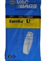 Eureka Style U Upright Vacuum Cleaner Bags, DVC Replacement Brand, designed to f - $7.92