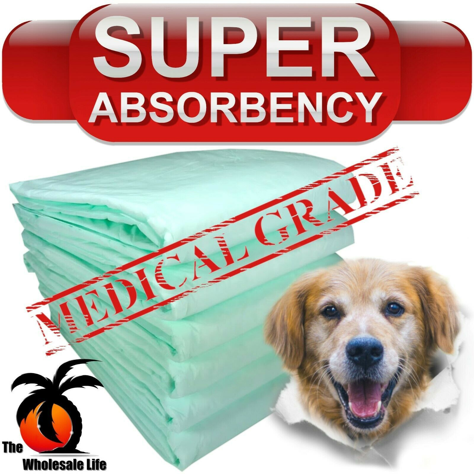 300 Dog Puppy Pads 30x30 Training Wee Wee Chux Pee Potty Housebreaking Underpads - $75.00