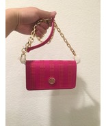 Tory Burch Robinson Mini CARNATION RED 51149298-623 Chain Shoulder Bag - $136.50
