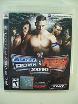 PS3 Wwe Smack Down Vs Raw 2010 Game Playstation 3 Featuring Ecw - $18.57