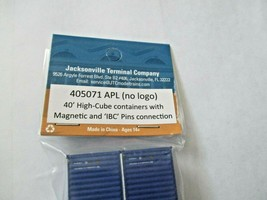 Jacksonville Terminal Company # 405071 APL (No Logo) 40' High-Cube Container (N image 2
