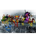 Marvel: 80s X-Men Lunch Atop A Skyscraper- Satin Art Print/Poster - $19.99+