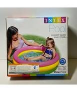 Intex Sunset Glow Baby Pool (34 in x 10 in) - $27.71