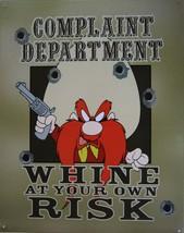Complaint Department Yosemite Sam Cartoon Metal Sign - $21.95