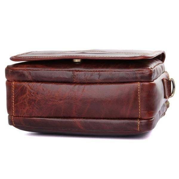 Sale, Men's Leather Satchel Bag, Messenger Bag, Leather Messenger, Shoulder Bag image 6