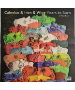 """Calexico & Iron & Wine """"Years To Burn"""" 21"""" X 21"""" Promo Music Poster, New - $14.95"""