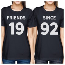 Friends Since Custom Years BFF Matching Navy Shirts - $30.99+