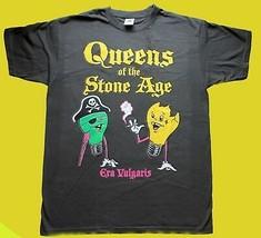 Queens Of The Stone Age Era Vulgaris Stoner Sludge Rock T-SHIRT GILDAN R... - $23.00+