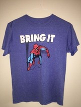 MARVEL COMICS T-SHIRT SIZE MEDIUM BOYS KIDS SPI... - £3.07 GBP