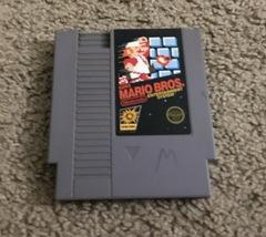Nintendo NES Super Mario Bros Game Cartridge  - $15.00