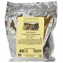 Organic Rhubarb Root Powder 1 Pounds - $34.08
