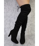 Black  Dasia Women's Snug  Drawstring Tie Thigh... - $24.99