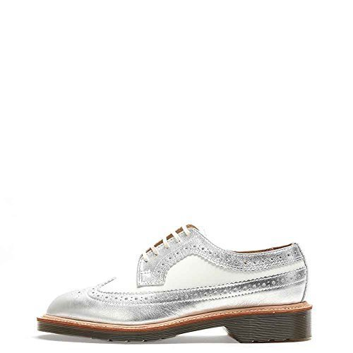 Dr. Martens Women's MIE 3989 Shoes 14655960 Silver/White UK5 US7