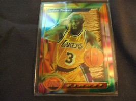 1993-94 Topps Finest  #141 Sedale Threatt -Los Angeles Lakers- - $3.12