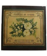 Flowers of Spring Lily of the Valley Distressed Metal Sign - $16.95