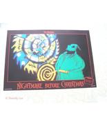 Disney Tim Burton Nightmare Before Christmas Oogie Boogie German Lobby Card - $19.99
