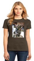 Avengers Captain America Wolverine Hulk Ladies Perfect Crew T-Shirt Size XS-4XL - $19.99+