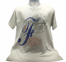 Vtg Single Stitch Fruit Loom U Of Florida T Shirt Gray Size L Large Usa Ncaa - $19.99