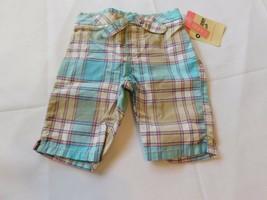 Osh Kosh B'gosh Youth Girl's Size 3 Months Capri Pants Cropped Multi Pla... - $16.19