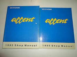 1995 Hyundai Accent Service Reparatur Shop Manuell 2 Volume Fabrik OEM B... - $39.55