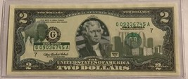 OKLAHOMA  $2 Two Dollar Bill - Colorized State Landmark - Uncirculated A... - $14.36
