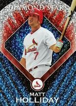 2011 Topps Diamond Stars #DS17 Matt Holiday > St. Louis Cardinals - $0.99